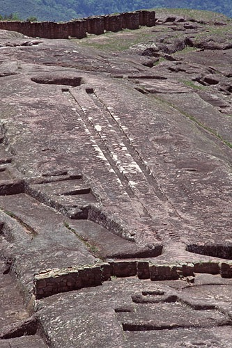 Bolivia, Pumapunku Mountain Samaipata - Ancient City Structure
