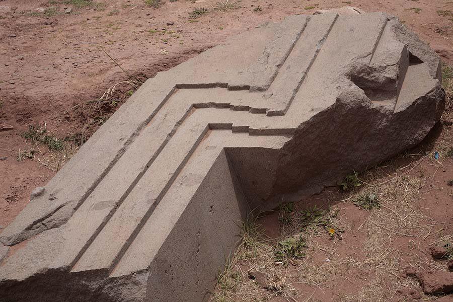 Bolivia, Pumapunku, Stone Decorations