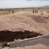 Buried City Akapana Pyramid Bolivia Pumapunku 200x200 Pumapunku