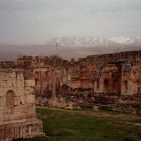 City of Baalbek Ruins overlooking the Mountains 200x200 Baalbek