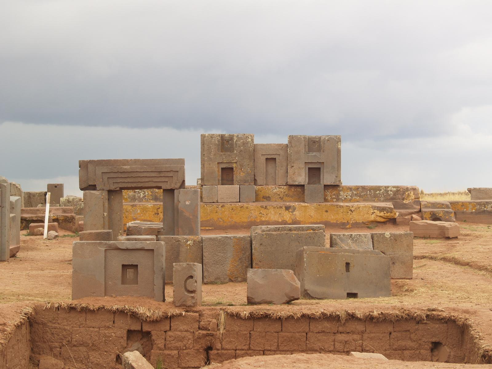 City of Tiwanaku, Bolivia, Pumapunku