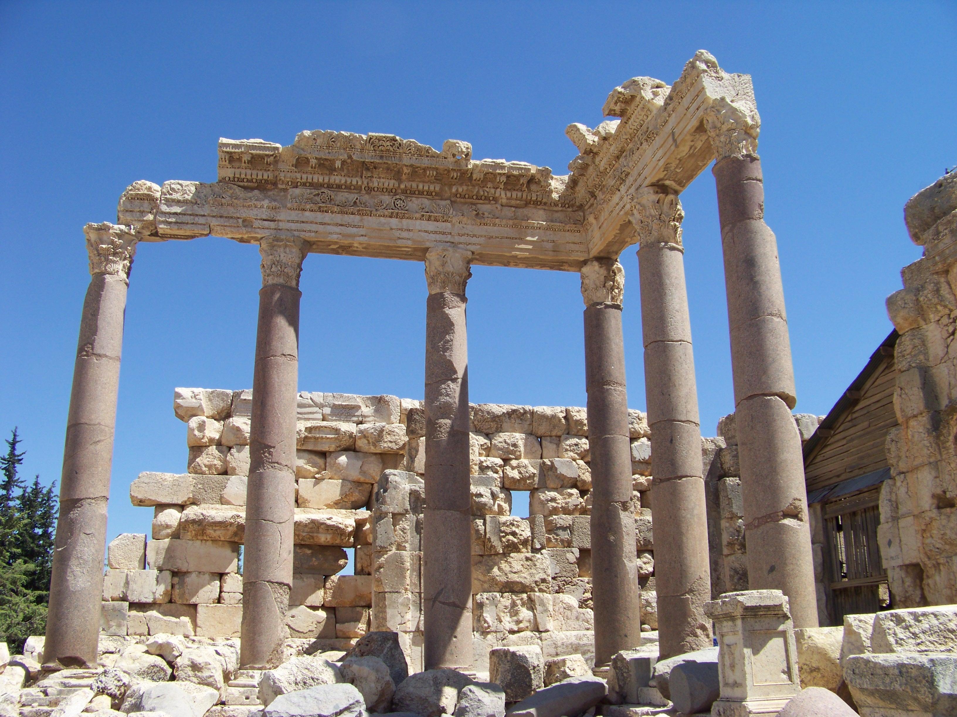 Columns at Baalbek