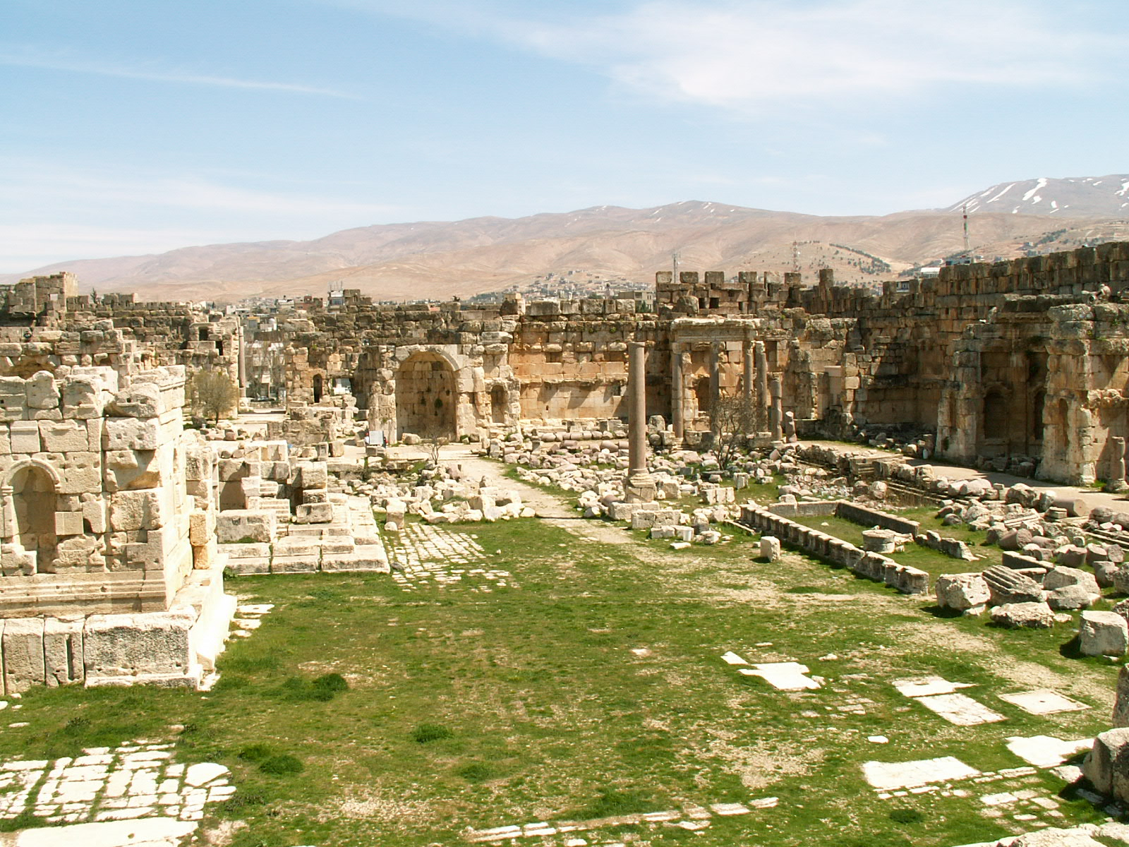 Destroyed Baalbek Ancient Mystery 9,000 BC