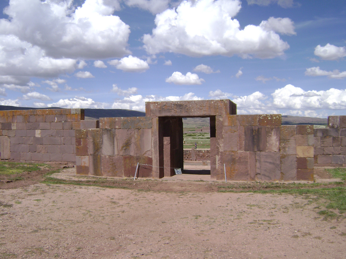 Doorway Wall Enterance Pumapunku