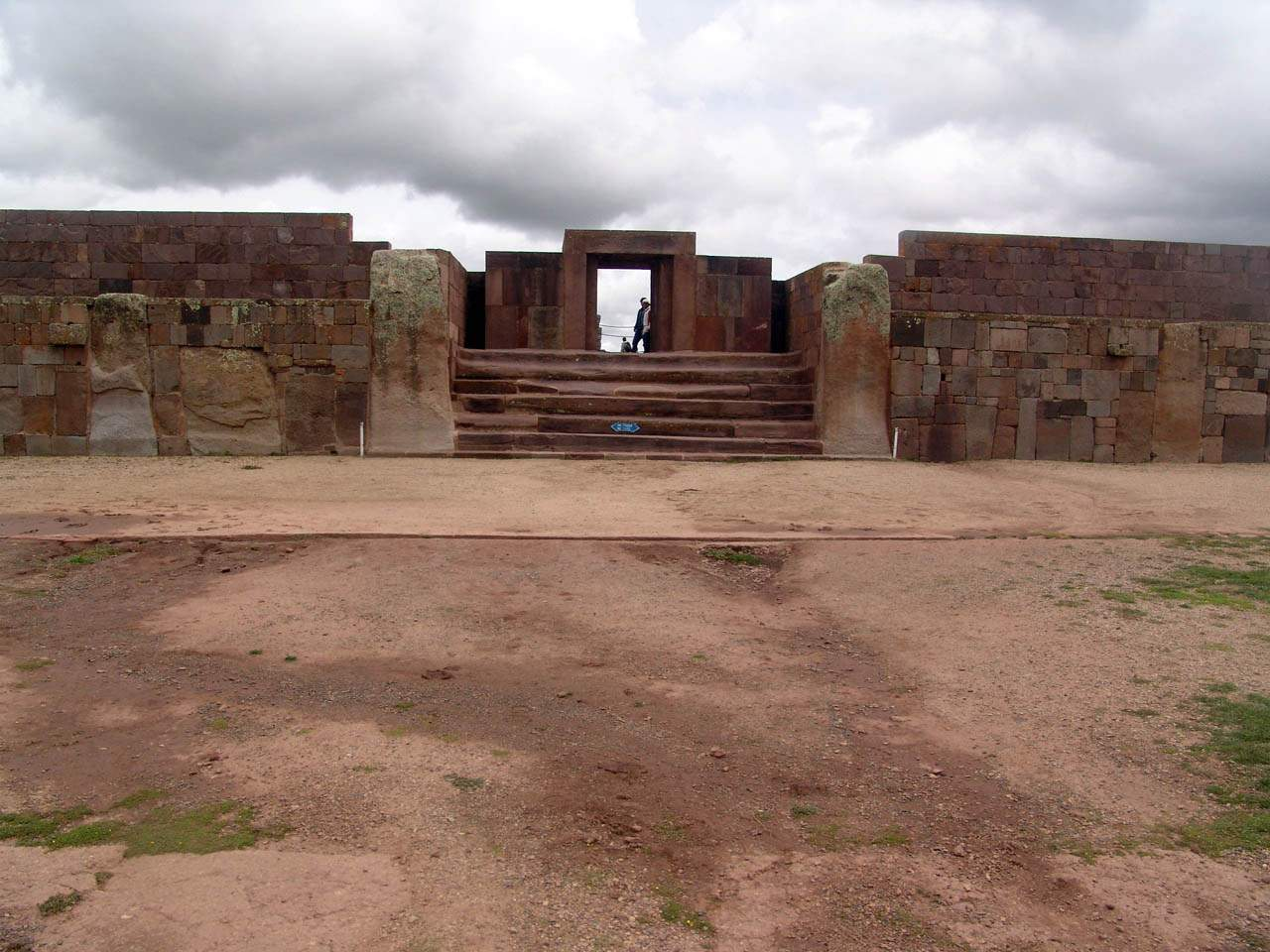 Doorway to Pumapunku megalithic