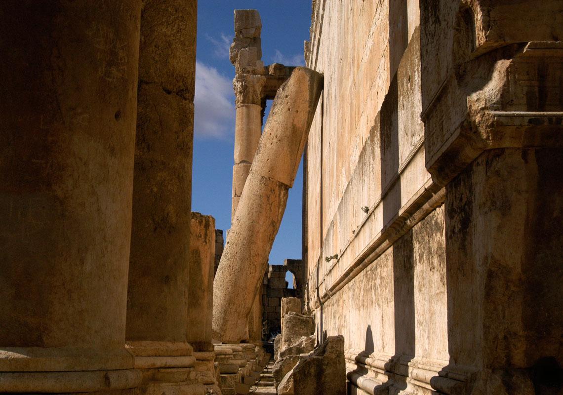 Falling Column Baalbek