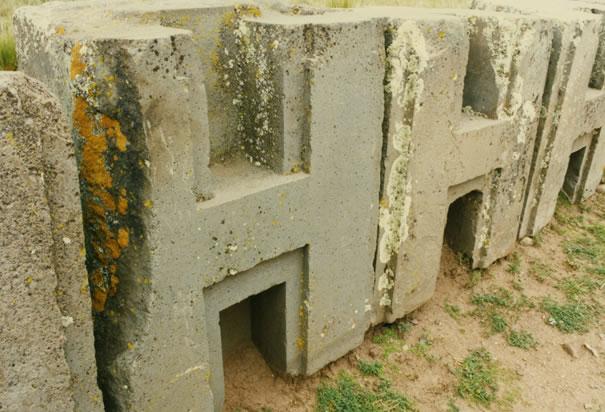 Interlocking Stone Walls Megaliths
