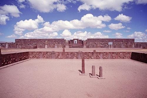 Kalasasaya Courtyard, Tiwanaku Ancient Andes Pumapunku
