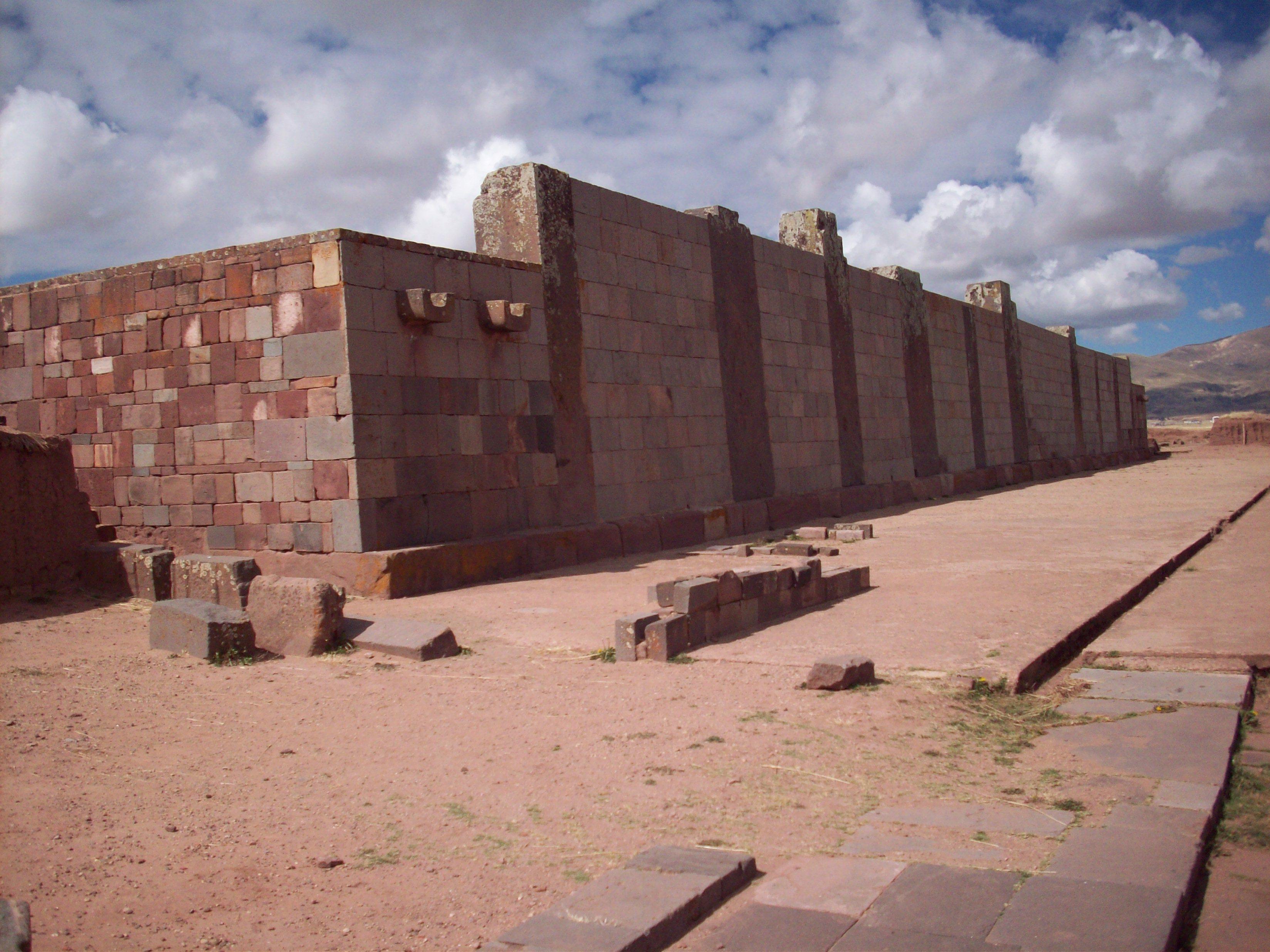 Kalasasaya Platform, Place of Power, Tiahuanaco (Tiwanaku), Bolivia