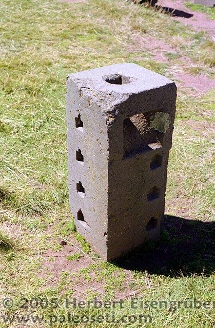 Machined Stone Block Pumapunku