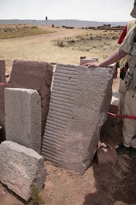 Machined stones Ancient Technology Lost Knoweldge of Pumapunku