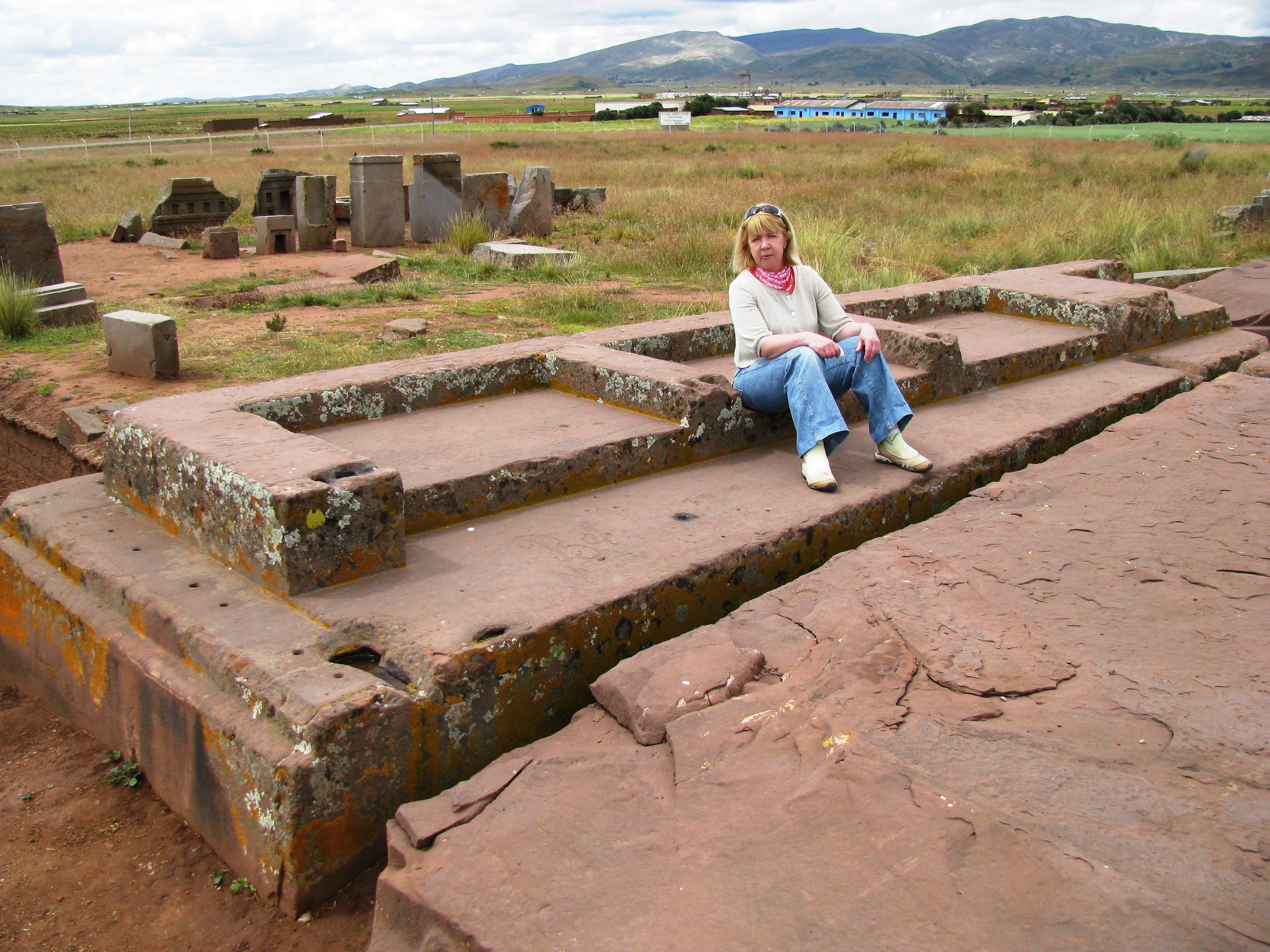 Megalithic platform at Puma Punku