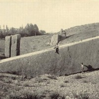 Old Photo Baalbek Giant Megalith 200x200 Baalbek