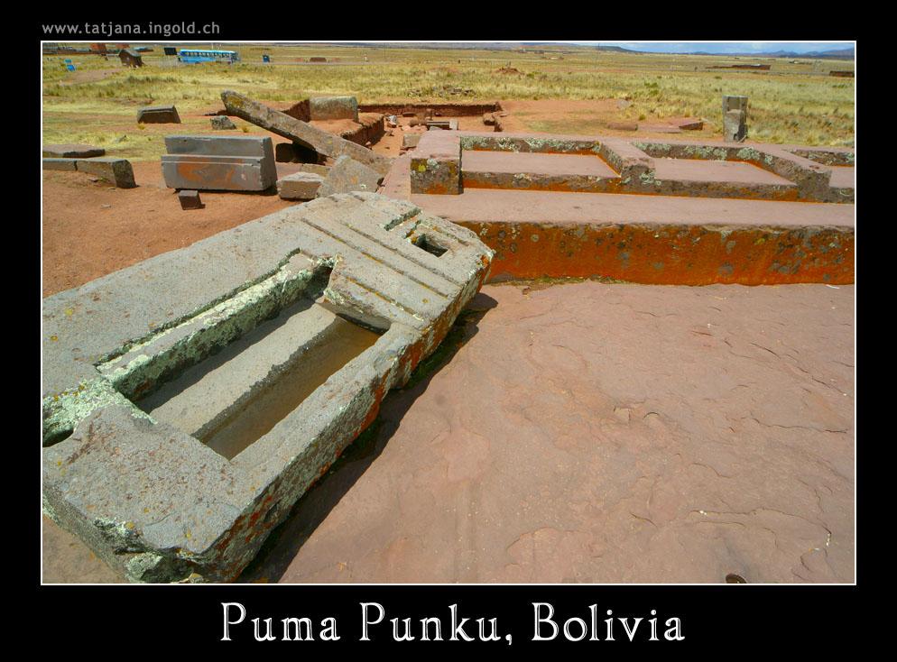 Puma Punku, Bolivia, Huge Megaliths