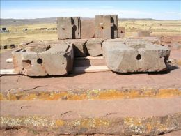 Pumapunku Drilled Holes Ancient Machines Advanced Technology