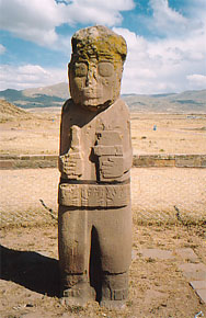 Pumapunku Stone Statue, Tiahuanaco