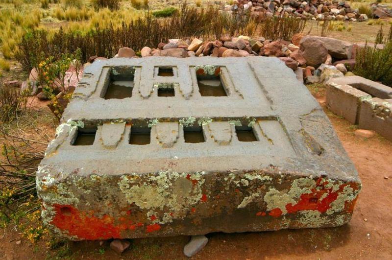 Pumapunku Stone Wall