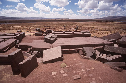 Pumapunku destroyed