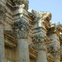 Remains of Baalbek Temple Columns 200x200 Baalbek