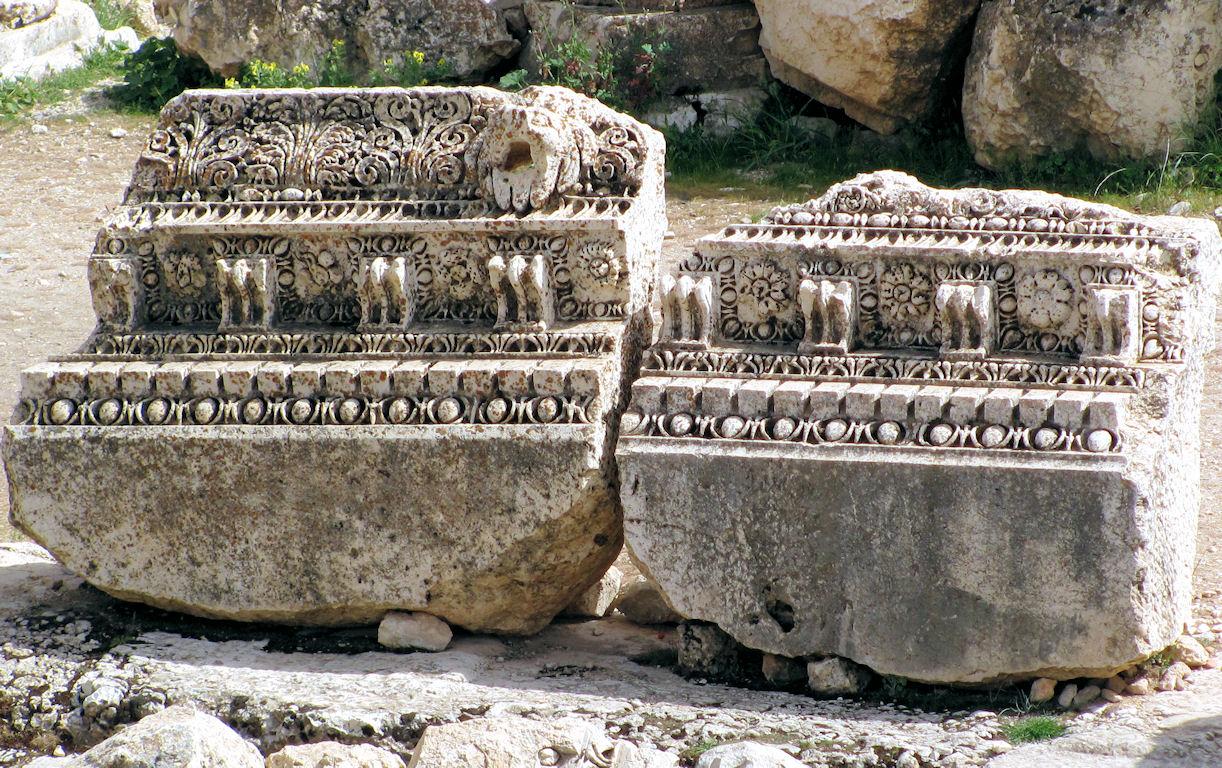 Remains of Baalbek