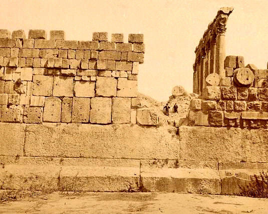 Site of Baalbek Megaliths