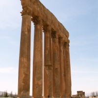 Standing Wall of Temple at Baalbek 200x200 Baalbek