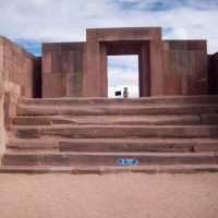 Steps to Doorway of Kalasasaya platform Pumapunku 200x200 Pumapunku