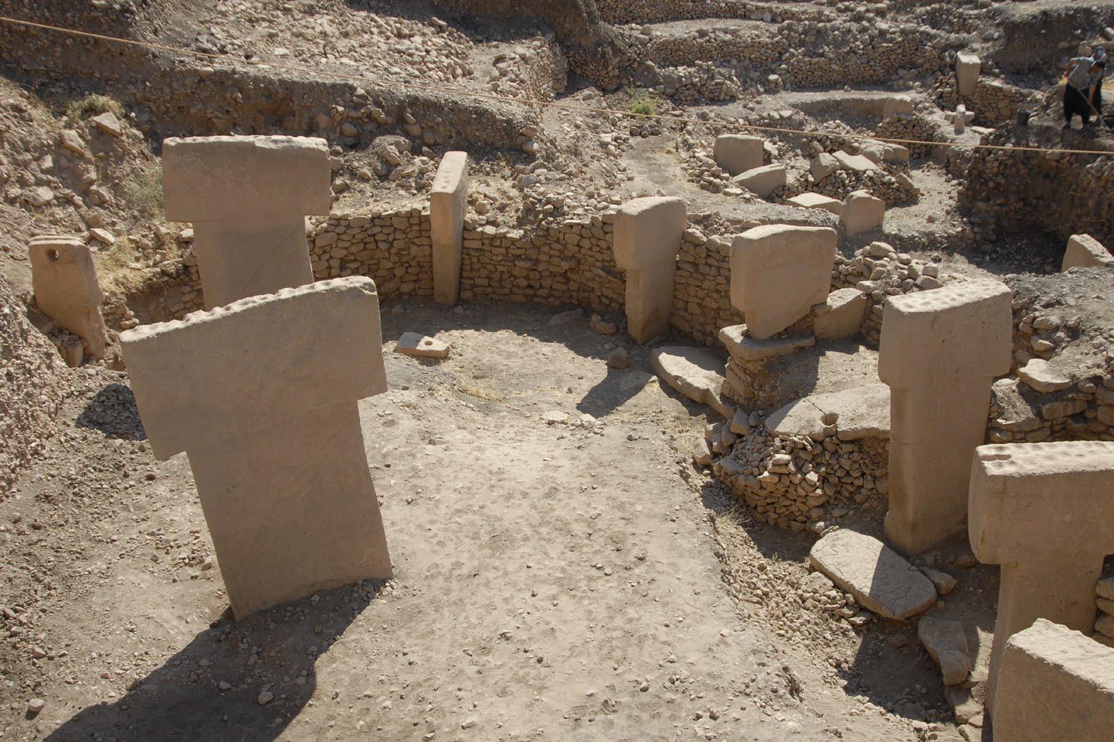 Stone Circle Monument Steinkreis Pumapunku Buried Temple