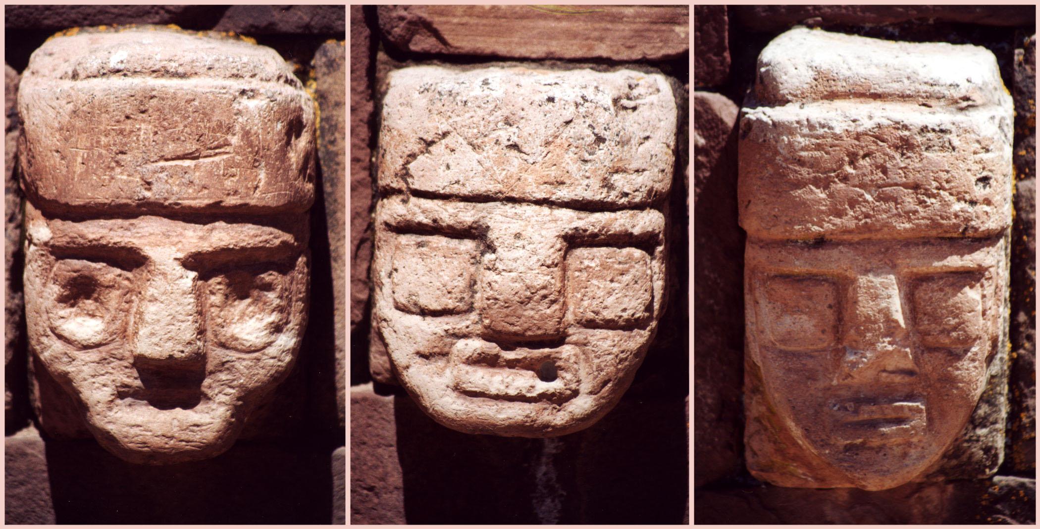 Stone heads of Pumapunku