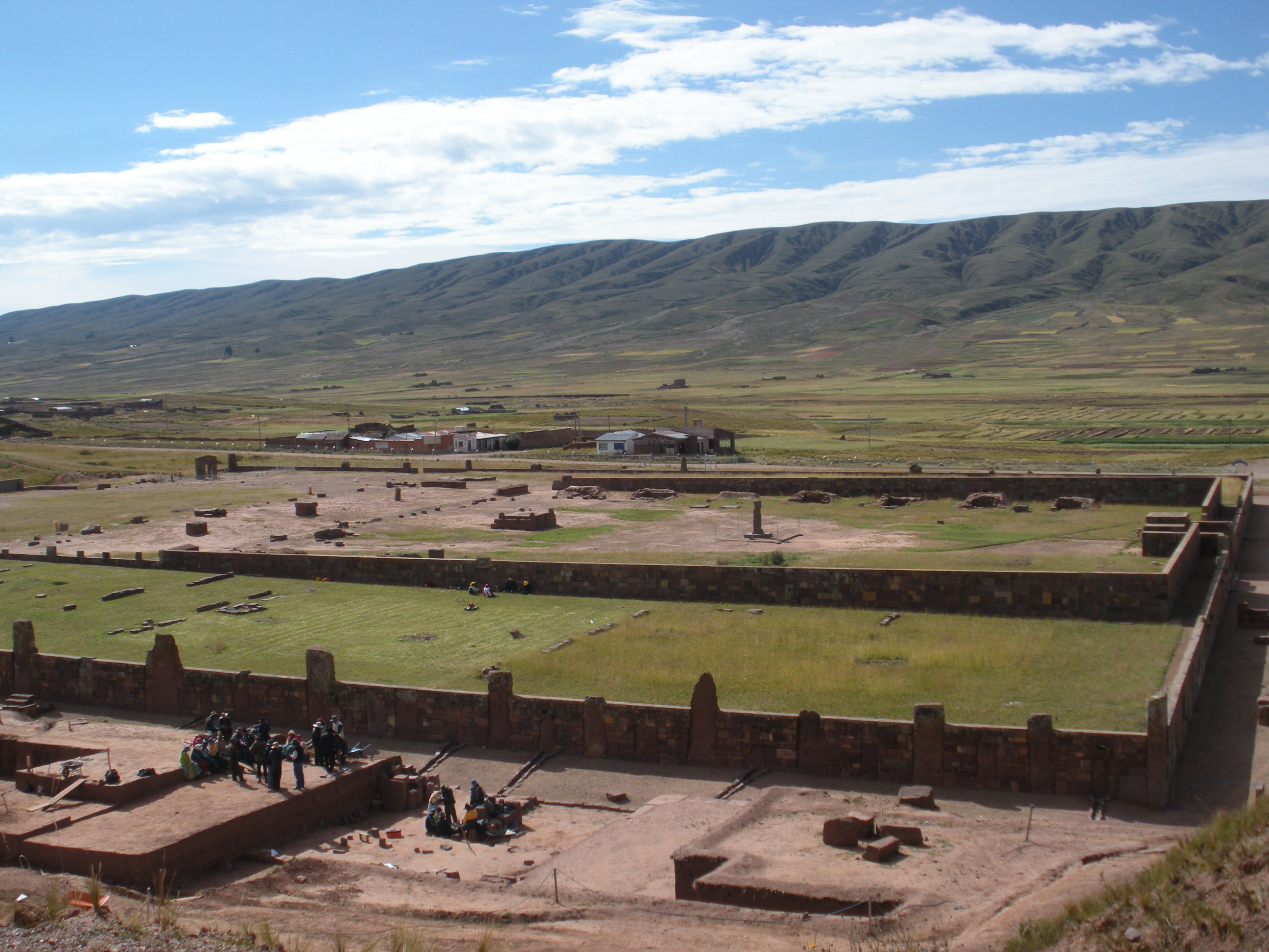 Sunken Temple Tiwanaku Pumapunku