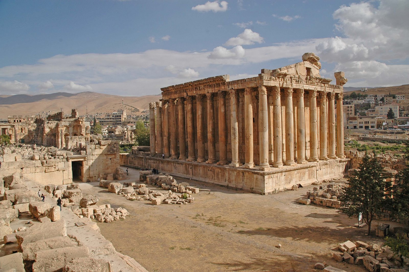 Temple of Jupiter Baalbek