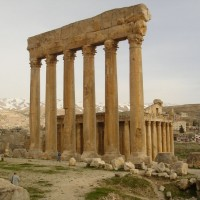 Temple of Jupiter Ruins 200x200 Baalbek