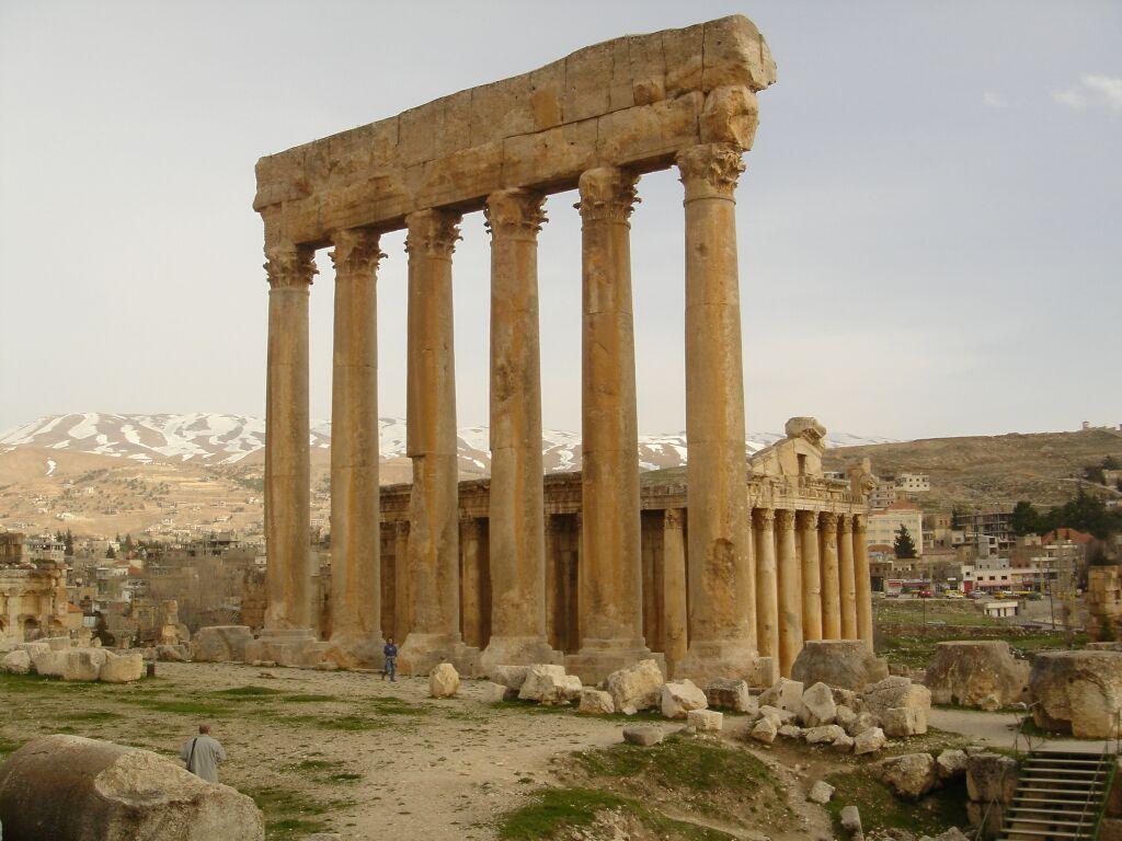 Temple of Jupiter Ruins