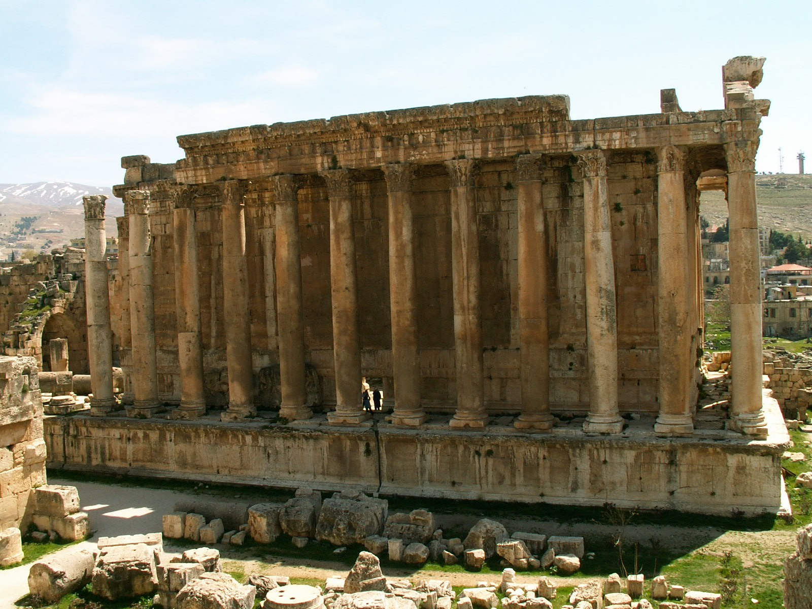Temple of Jupiter at Baalbek