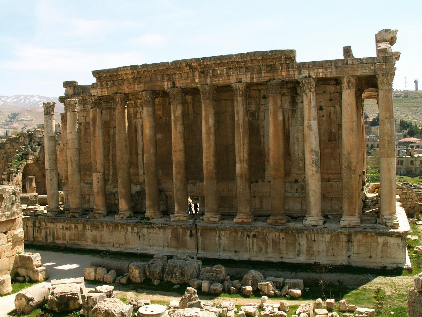 Temple of Jupiter at Baalbek