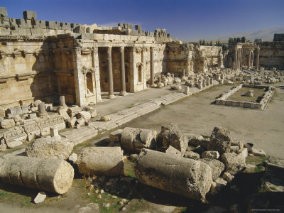 The Acropolis of Baalbek Middle East