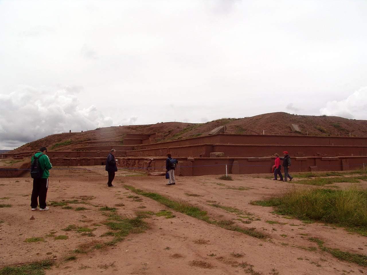 The Akapana Pyramid Bolivia Pumapunku Mastaba