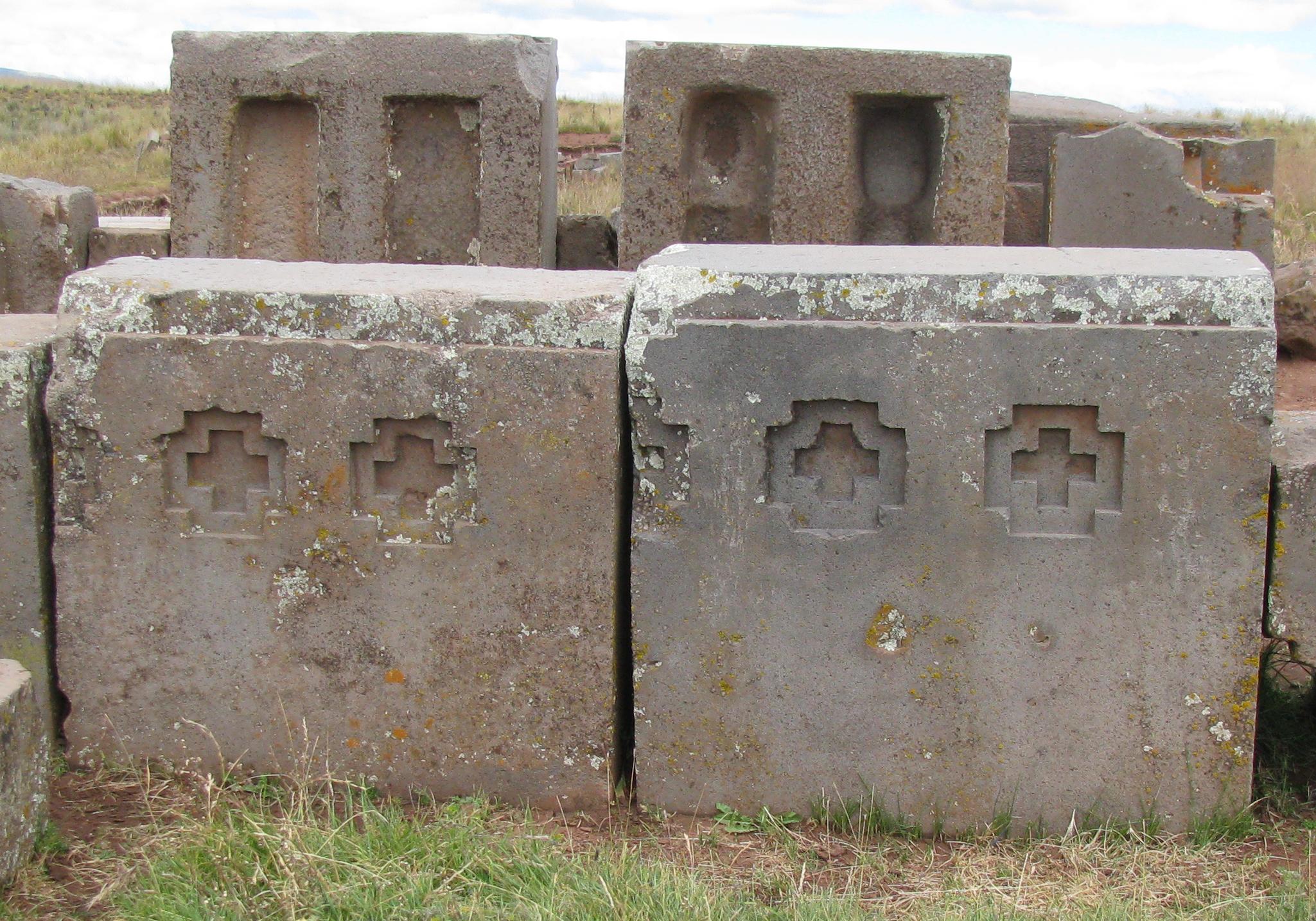 The ruins of Puma Punku