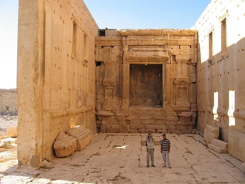 Inside Tempel of Bel