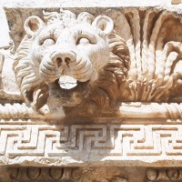 Waterspout Lion Baalbek 200x200 Baalbek