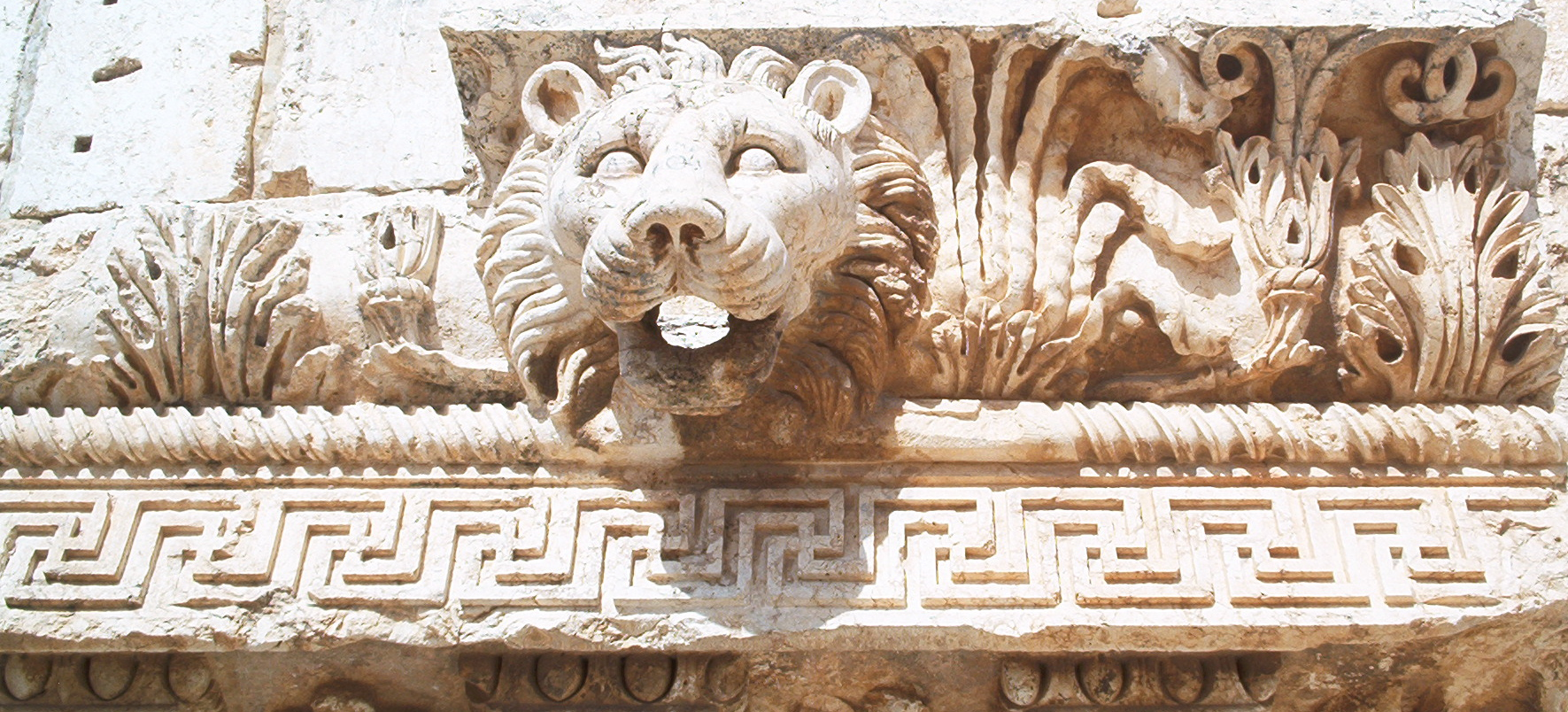 Waterspout Lion Baalbek