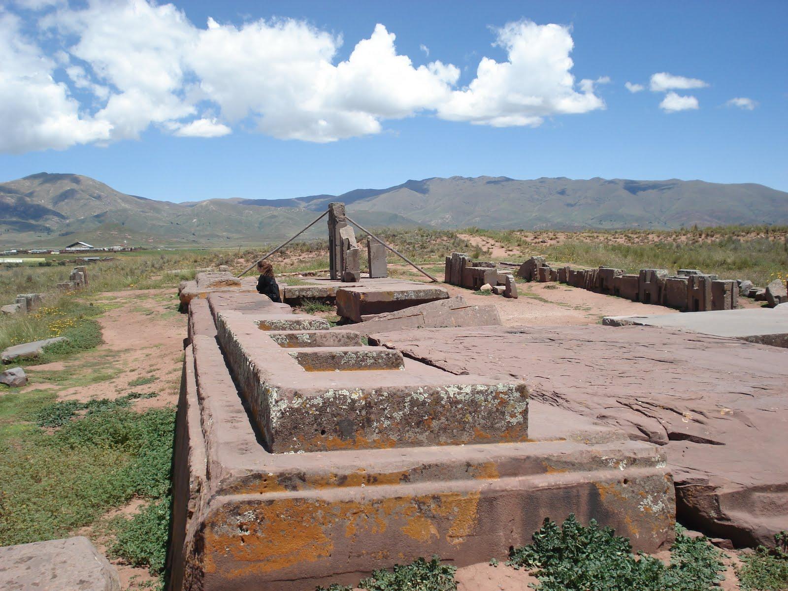 ancient pumapunku structures