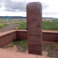 decapitated statue at pumapunku 200x200 Pumapunku