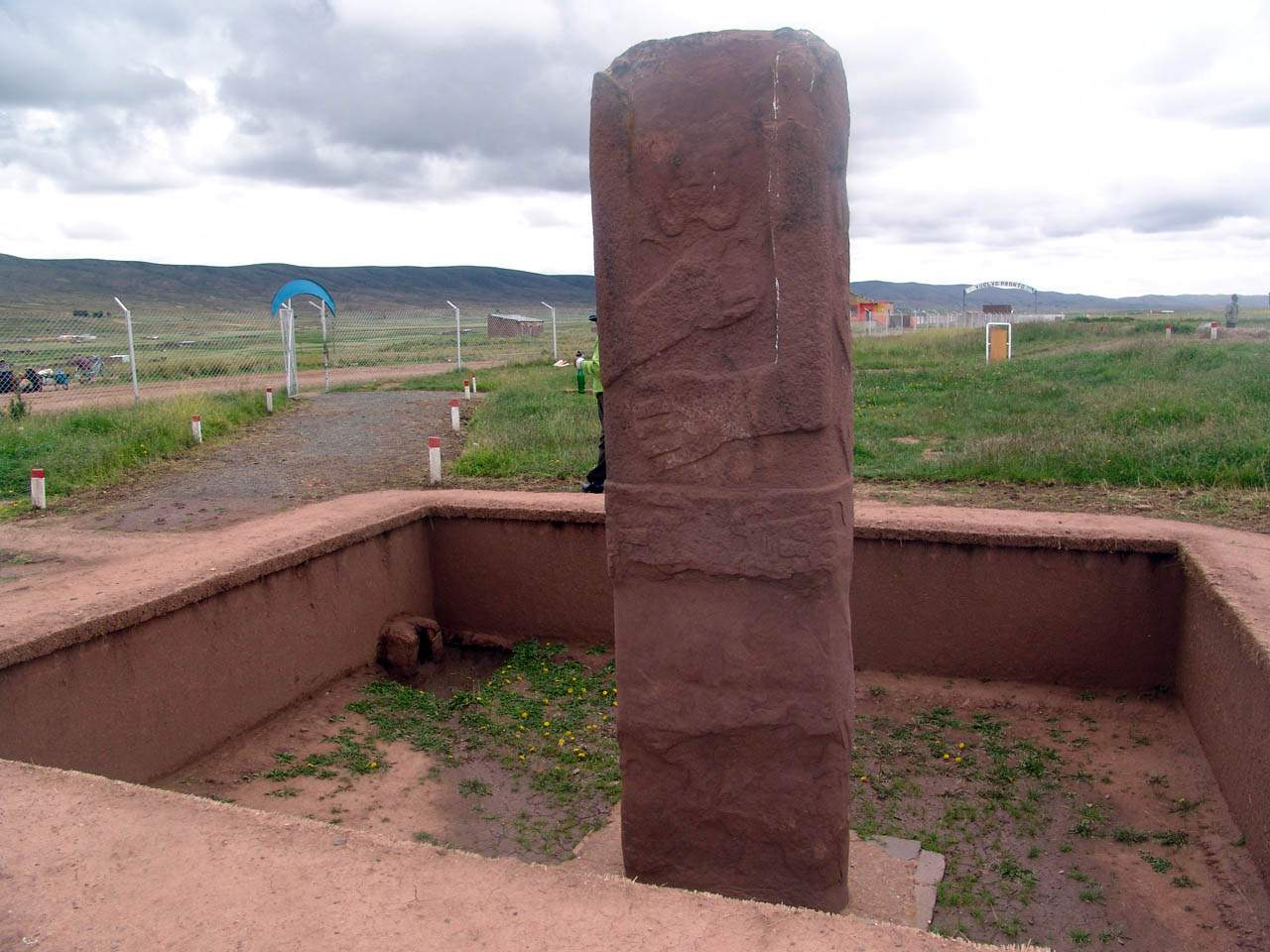 decapitated statue at pumapunku
