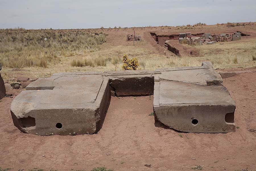 fallen Stargate of Pumapunku near Kalasayaya temple