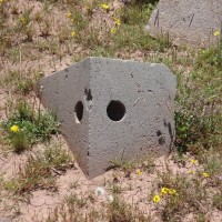 machined holes at the ruins of Puma Punku 200x200 Pumapunku