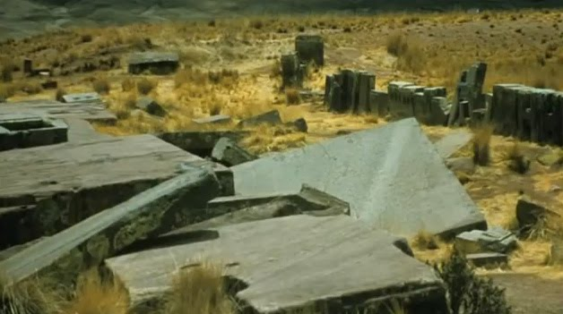 pumapunku ancient mystery destroyed city megaliths