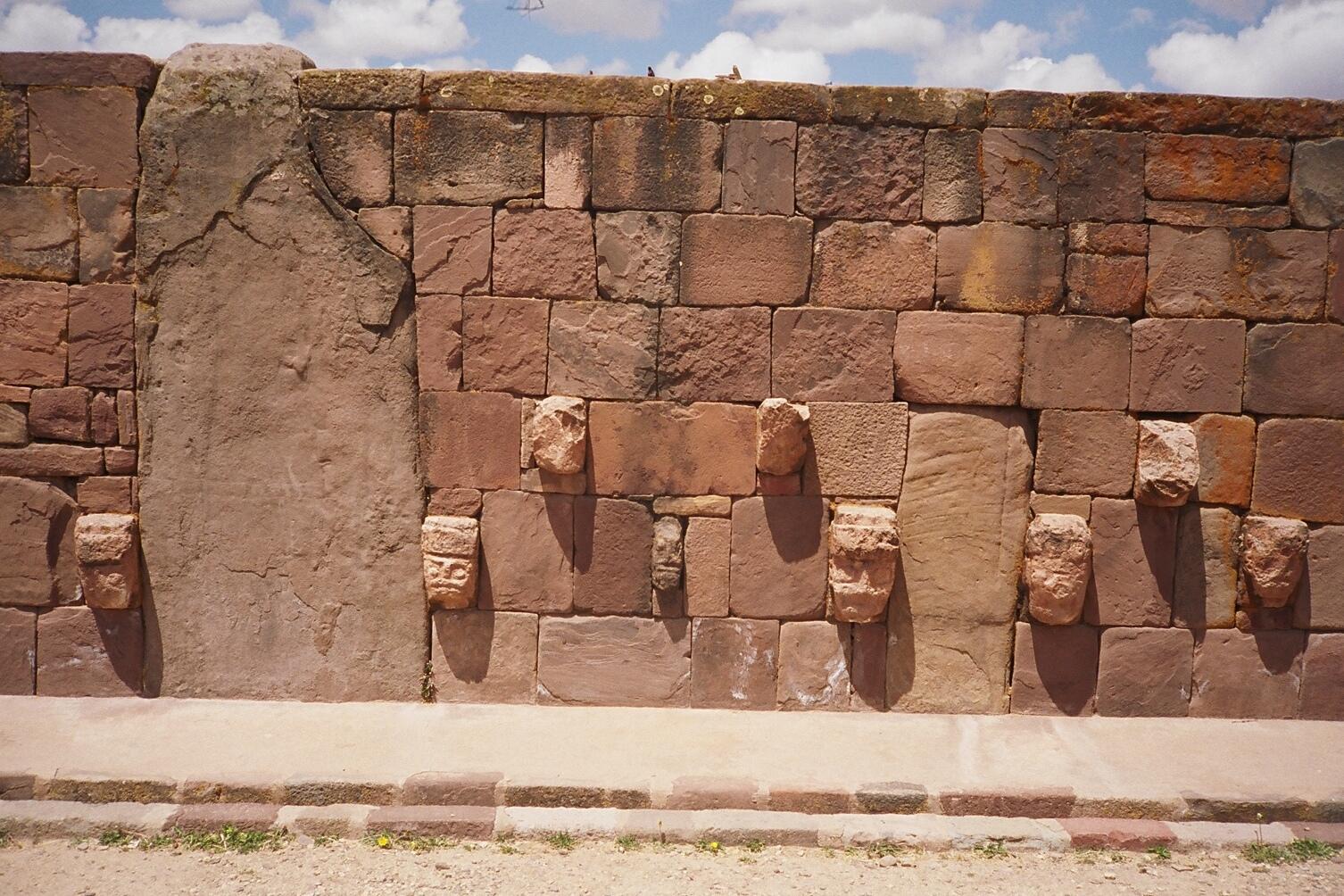 Tiahuanaco Wall