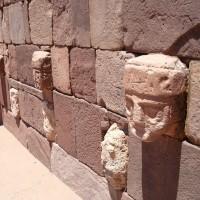 tiwanaku megalithic structures stone wall heads 200x200 Pumapunku