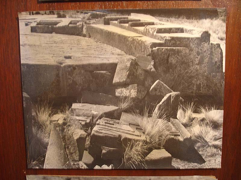 tiwanaku old picture